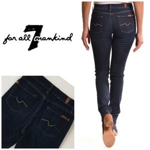 7 For All Mankind Mid Rise Roxanne Skinny👖